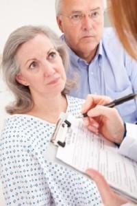 Doctor Patient Older Couple