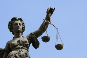 Lady Justice w/Scales